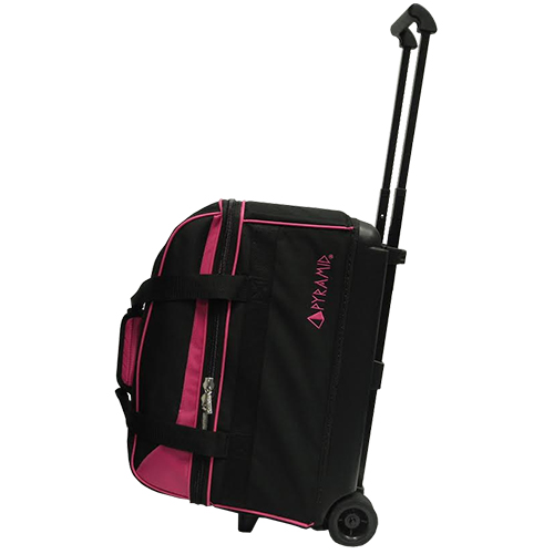 Prime Double Roller Hot Pink Pyramid Bowling