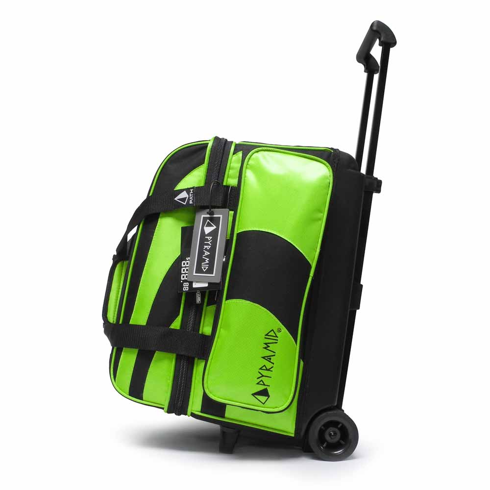 Path Deluxe Double Roller Black/Lime