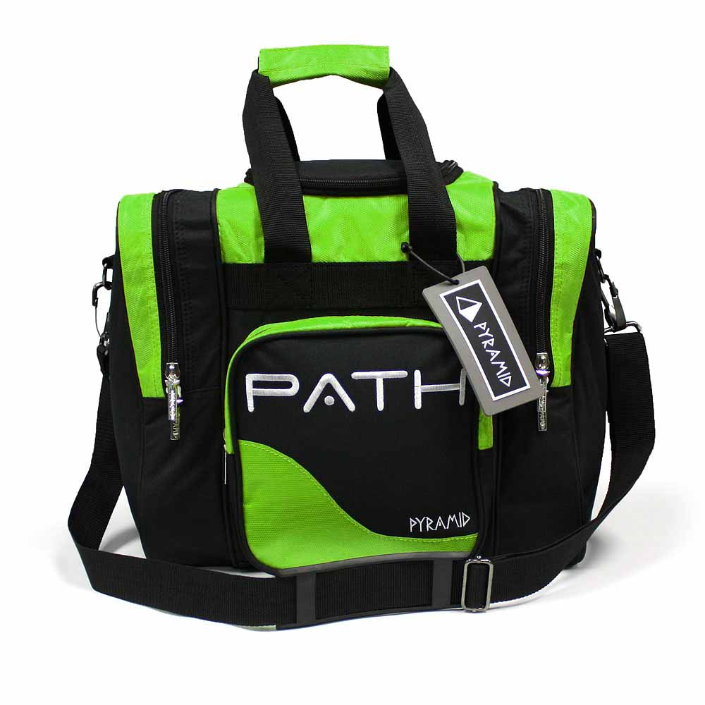 Path Pro Deluxe Single Tote Black Lime