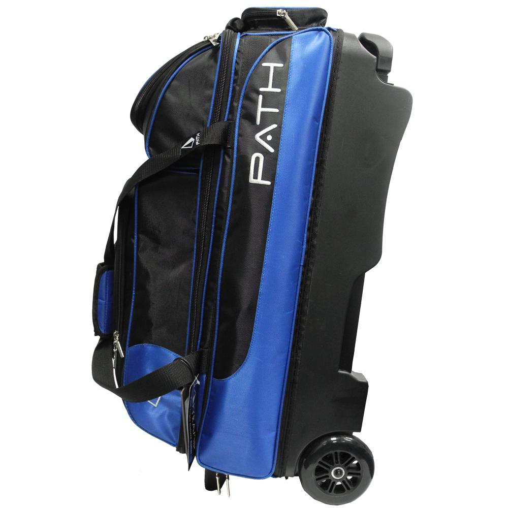 Path Triple Premium Deluxe Roller Black/Blue