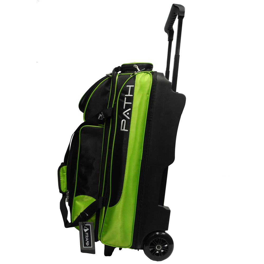 Path Triple Premium Deluxe Roller Black Lime Pyramid Bowling