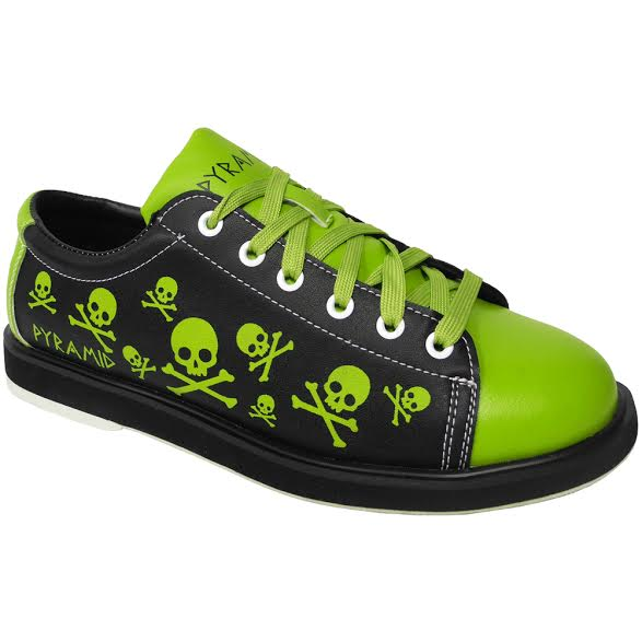 Men's Skull Lime/Black